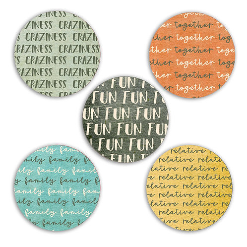It's a Family Thing 2-inch Circles
