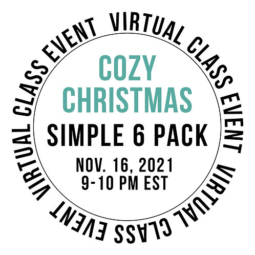 Cozy Christmas Simple 6 Pack Class Box