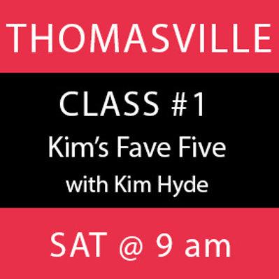 Class # 1—Thomasville