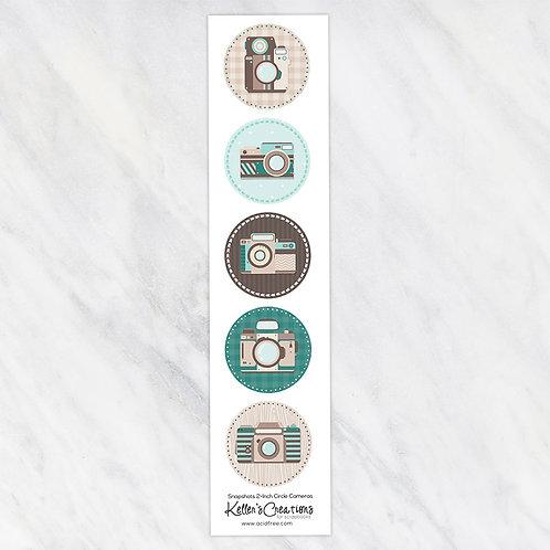Snapshots-Cameras 2-inch Circles