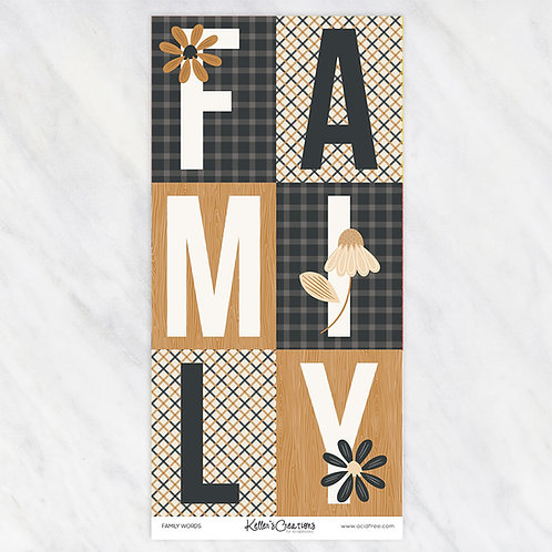 FAMILY-WORDS
