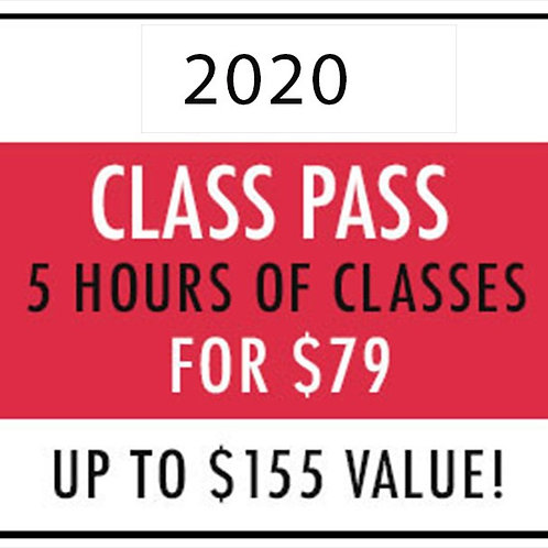 2020 Class Pass