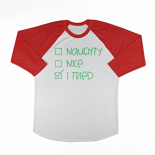 KIDS Naughty-Nice T-shirt