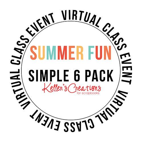 Summer Fun Simple 6  Pack Class Box