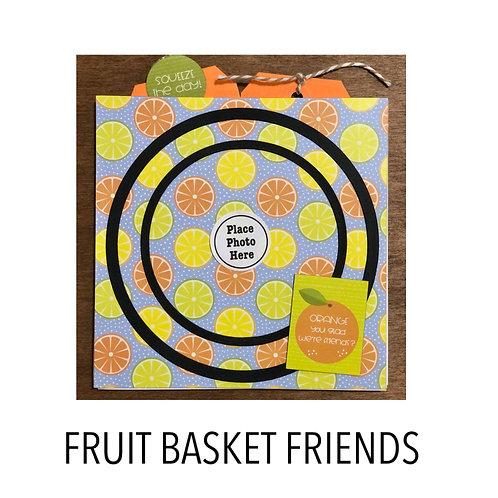 Fruit Basket Friends Pocket Accordion Book Kit