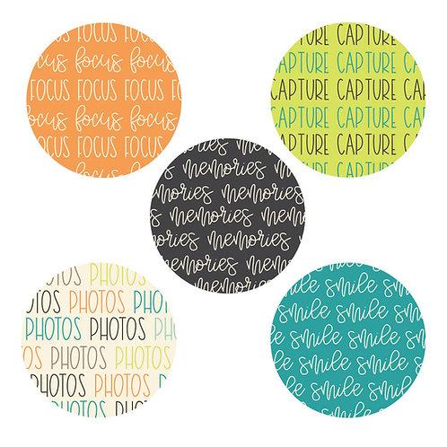 Photographs 2-inch Circles