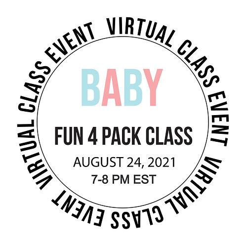 Baby Fun 4 Pack Class Box