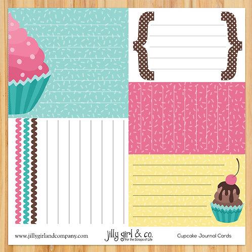 Cupcake Journal Cards