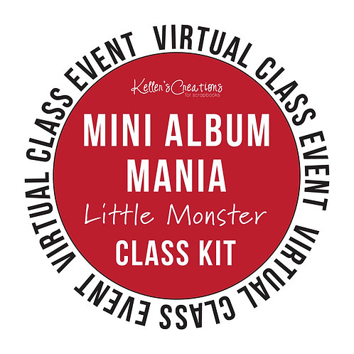 Mini Album Mania: Little Monster Class Kit