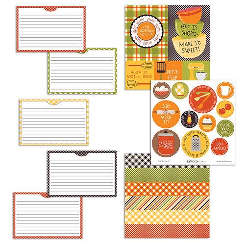 Fall Recipe Kit