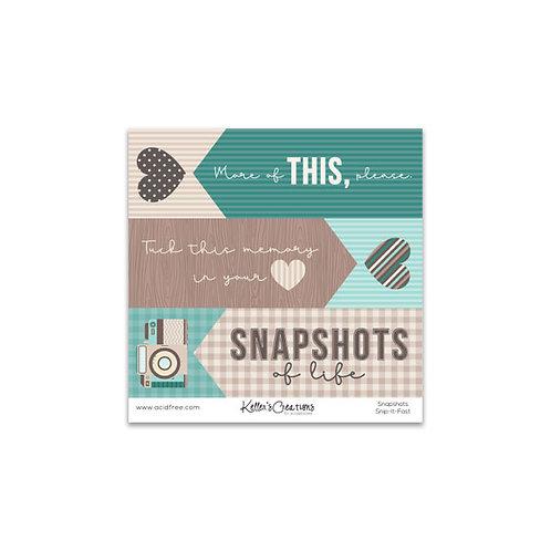 Snapshots Snip It Fast
