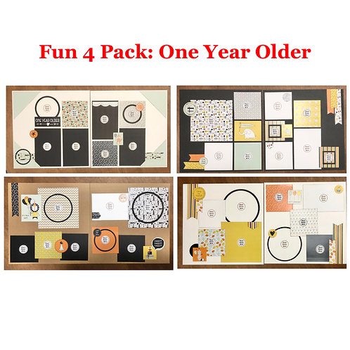 Fun 4 Pack: One Year Older