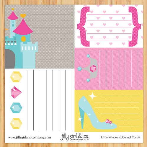 Little Princess Journal Cards