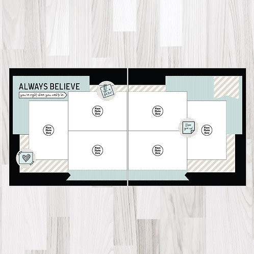Always Believe-Perfect Pages