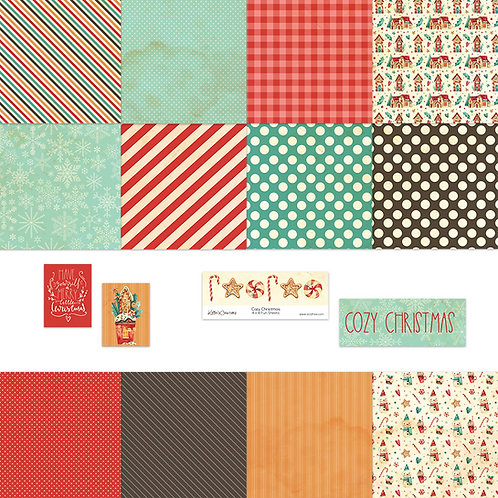 Cozy Christmas 4x4 Fun Sheets