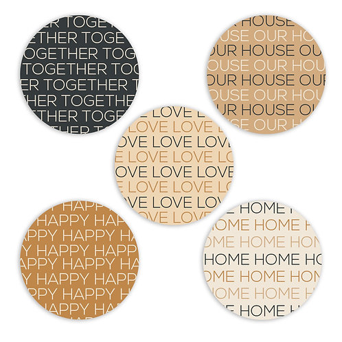 At Home 2-inch Circles