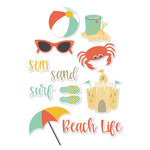 Beachy Die Cuts
