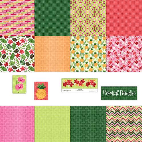 Tropical 4x4 Fun Sheets