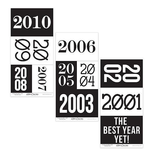 2001-2010 Decade Cards