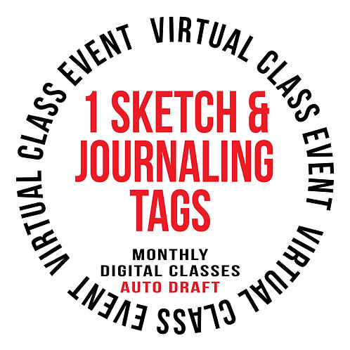 1 Sketch & Journaling Tags Auto Pay