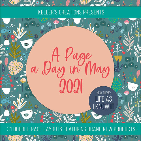 Payment Plan: Page a Day in May 2021