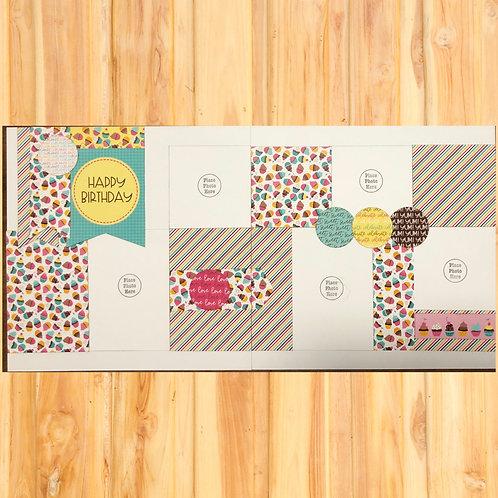 Happy Birthday Page Kit