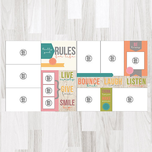 Rules for Life-Perfect Pages