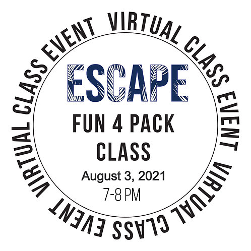 Escape Fun 4 Pack Class Box