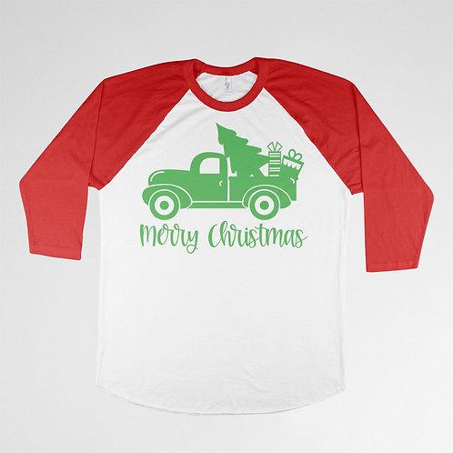 Merry Christmas (Truck) T-shirt