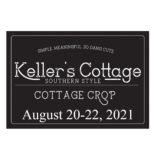 Keller's Cottage Crop-August 2021