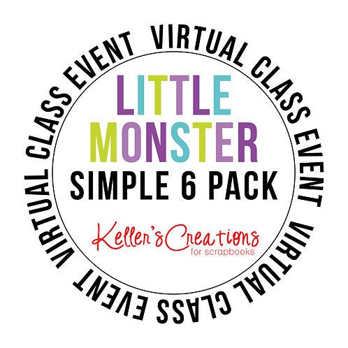 Little Monster Simple 6  Pack Class Box
