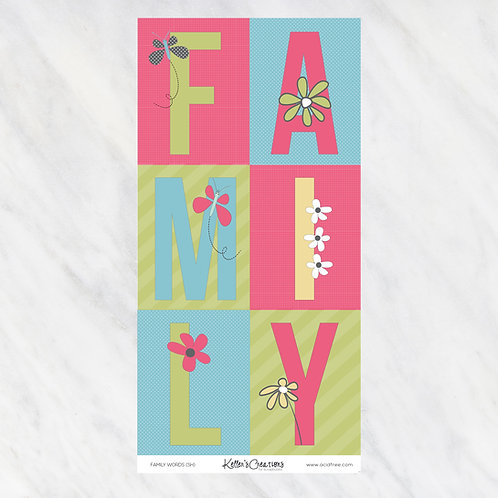 FAMILY (ICD)-WORDS