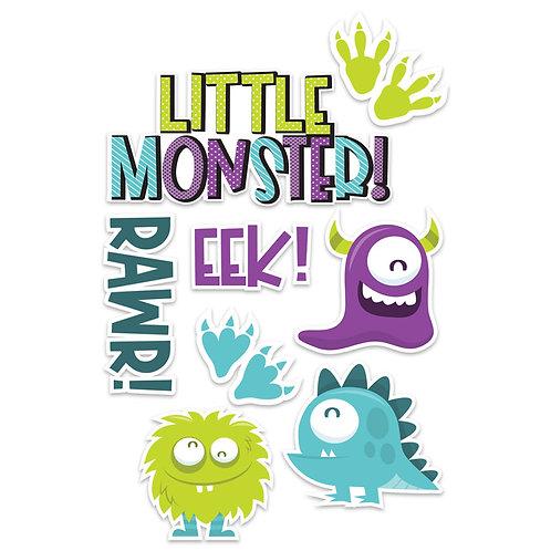 Little Monster Die Cuts