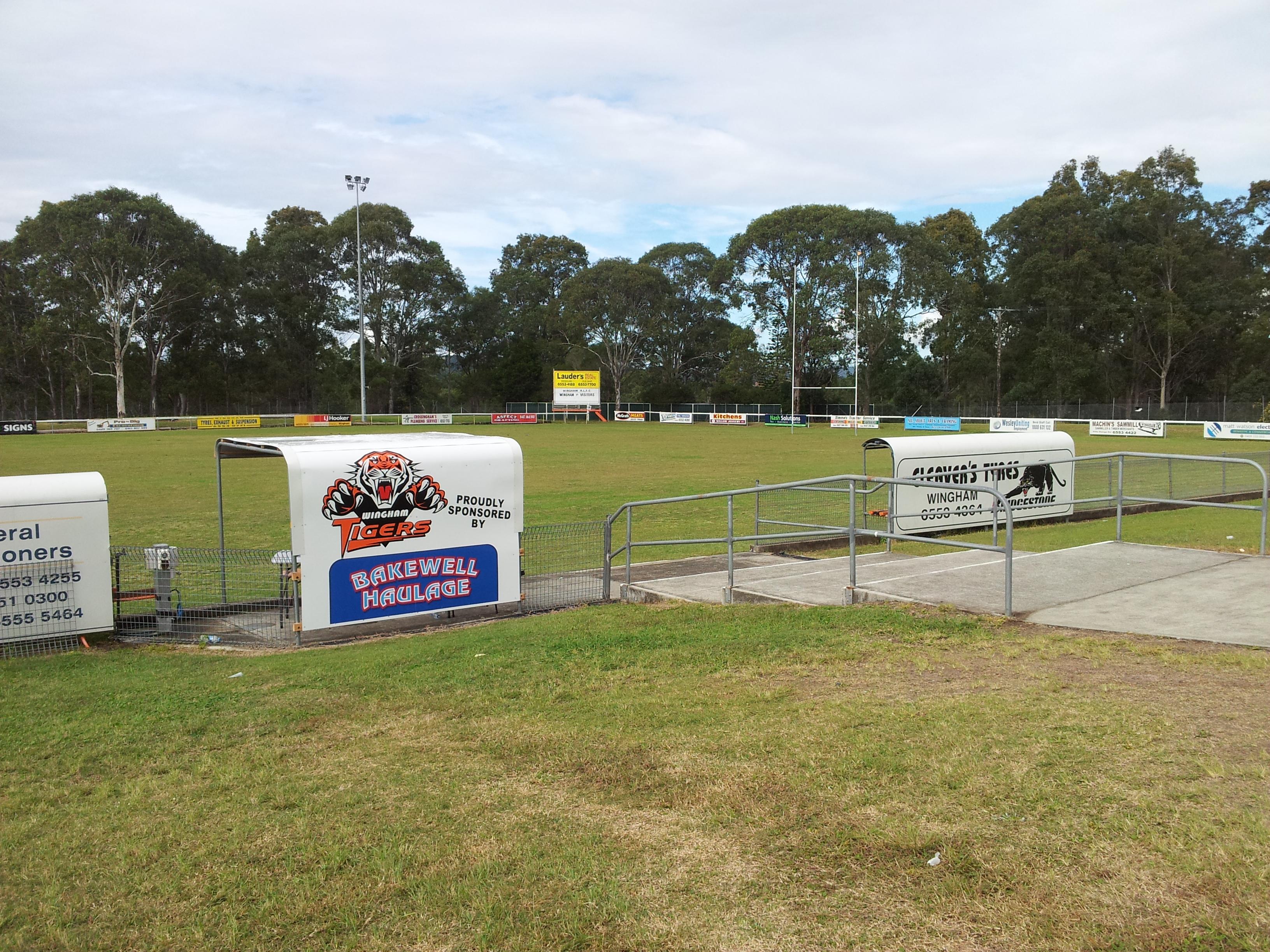 Football Oval Signage