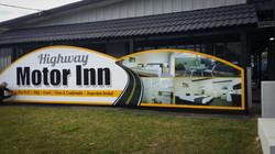 Motel Front Signage