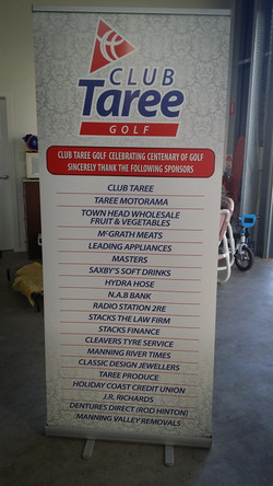 Retractable Rollup Banner