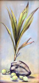 """10"""" x 20"""" Oil on canvas Sold"""