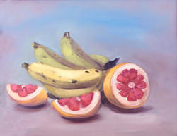 Banana with Grapefruit