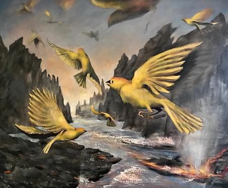 Gold Bird Variations 3