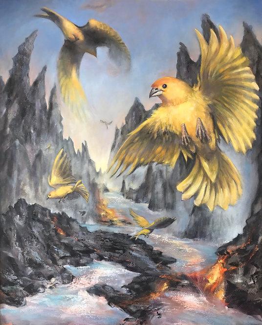 Gold Bird Variations 2