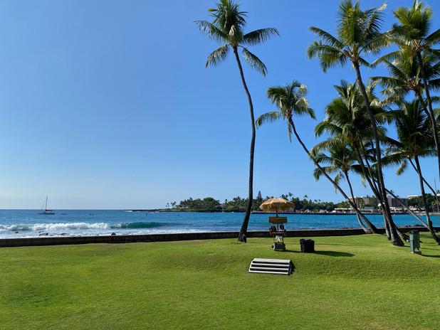 Kona Inn Sea View Lawn
