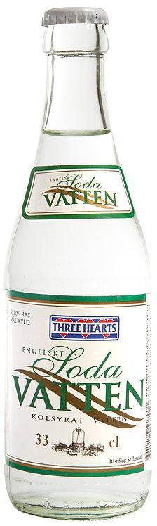 Three Hearts Engelskt Soda Vatten 33cl