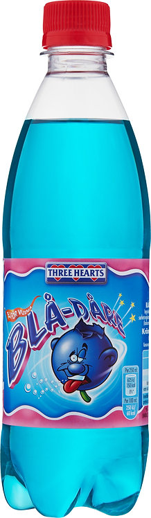 Three Hearts Blå-dåre 50cl