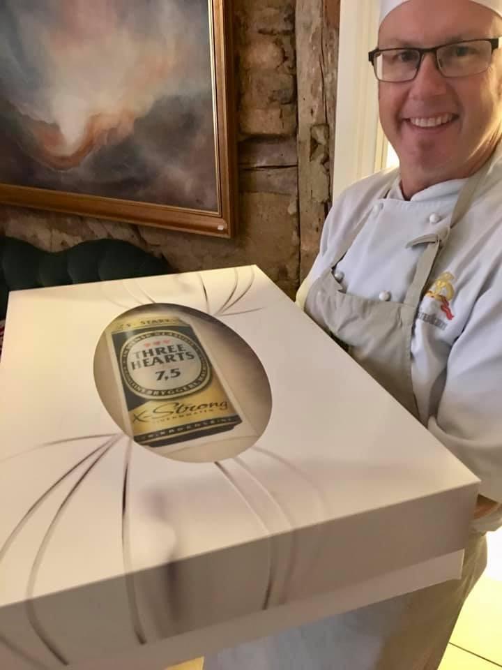 Skånska Chokladverkstan leverar tårta