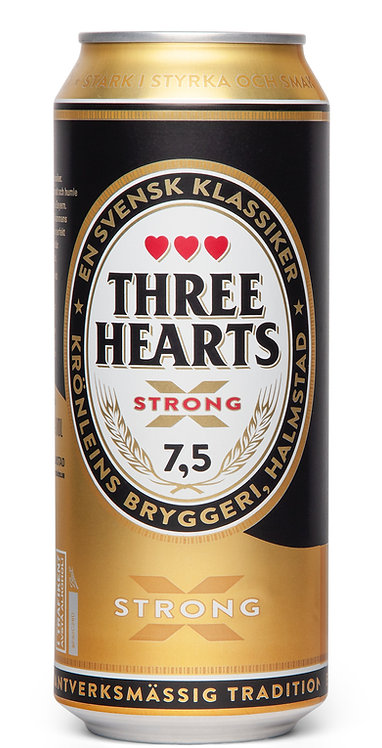 Three Hearts X-strong 7,5% 50cl