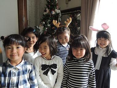 クリスマス会での楽しい記念撮影♪