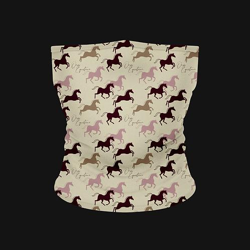 Shades of Pink Horse Buff