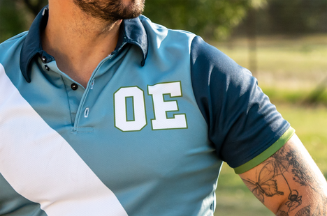 OE Olive Mustang Casual Shirt