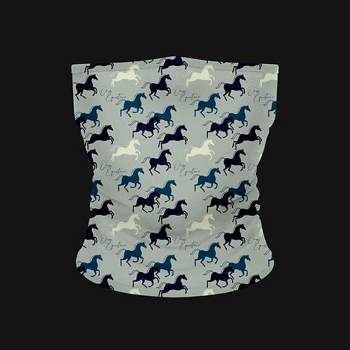 Shades of Blue Horse Buff