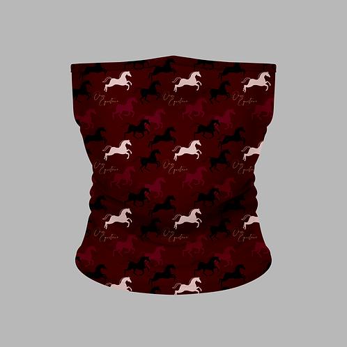 Shades of Burgundy Horse Buff